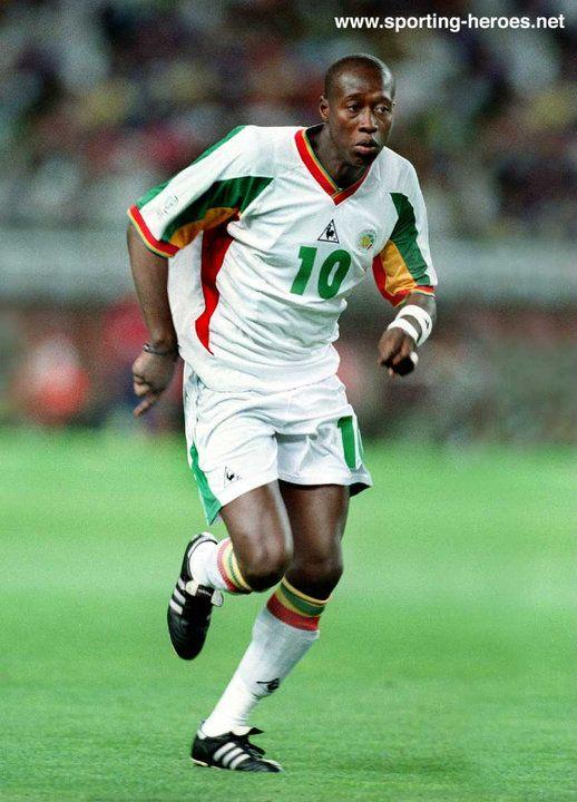 Khalilou Fadiga - Senegal - FIFA Coupe du Monde 2002 (Uruguay, Turquie)
