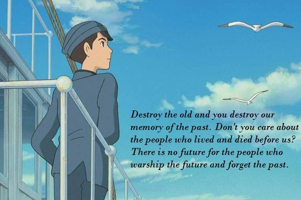 From Up On Poppy Hill Quotes Stunning Spirited Away Quotes