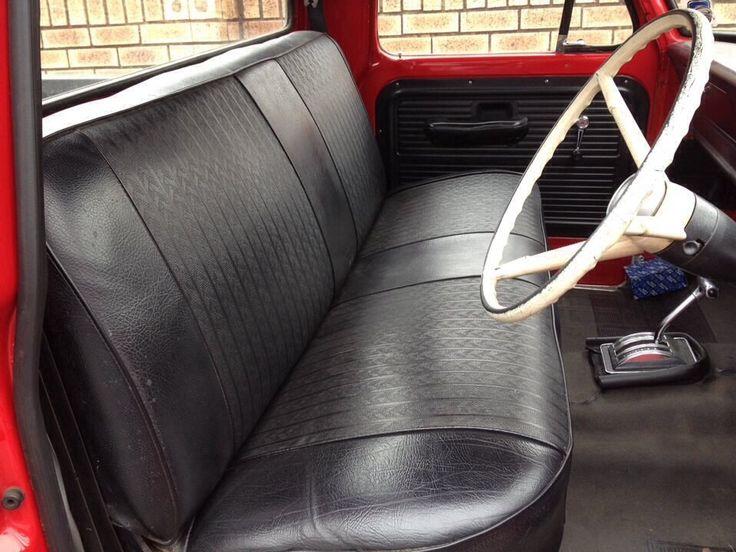 Interior Bench Seat Ford F100 Pinterest Interiors