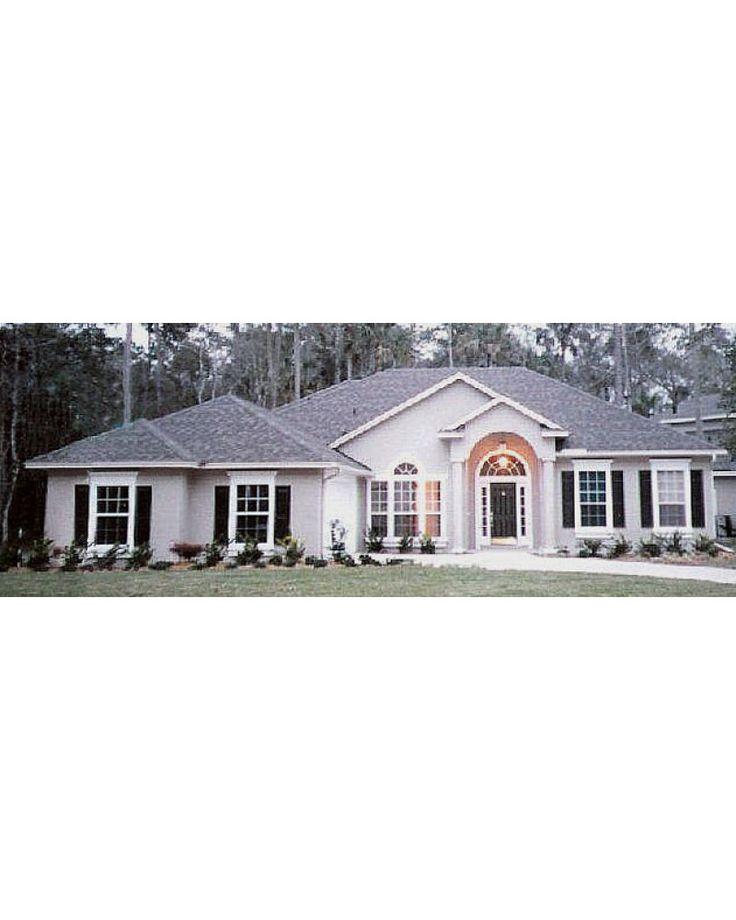 Amazingplans House Plan H2082b Colonial