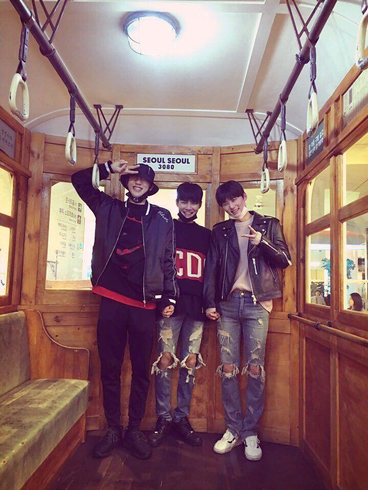 Hyun Bin 권현빈, Hyun Woo 성현우 and Min Hyun 황민현