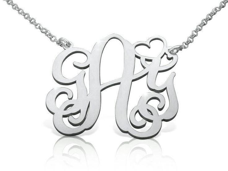 Personalized State Necklace Sterling Silver on framestr.com