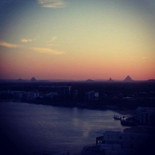 sunset @ caloundra