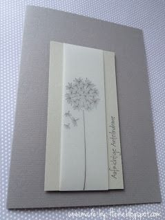 Velum.  Just the thought of stamping on velum says elegant to me. Meine kreative Welt...