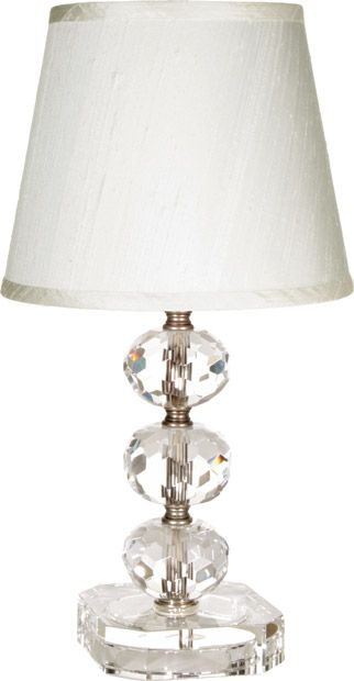 maura daniel 39 s small juliette table lamp is truly elegant with round. Black Bedroom Furniture Sets. Home Design Ideas