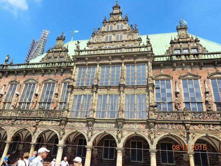 Town Hall - Rathaus - #UNESCO #WorldHeritage in Bremen #Germany