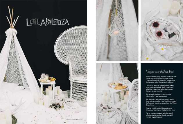 Featured in Hitched Magazine » DIY Pop-Up Parties, chalkboards and styling by @Melissa Simonetta, photography by @Willow & Co.