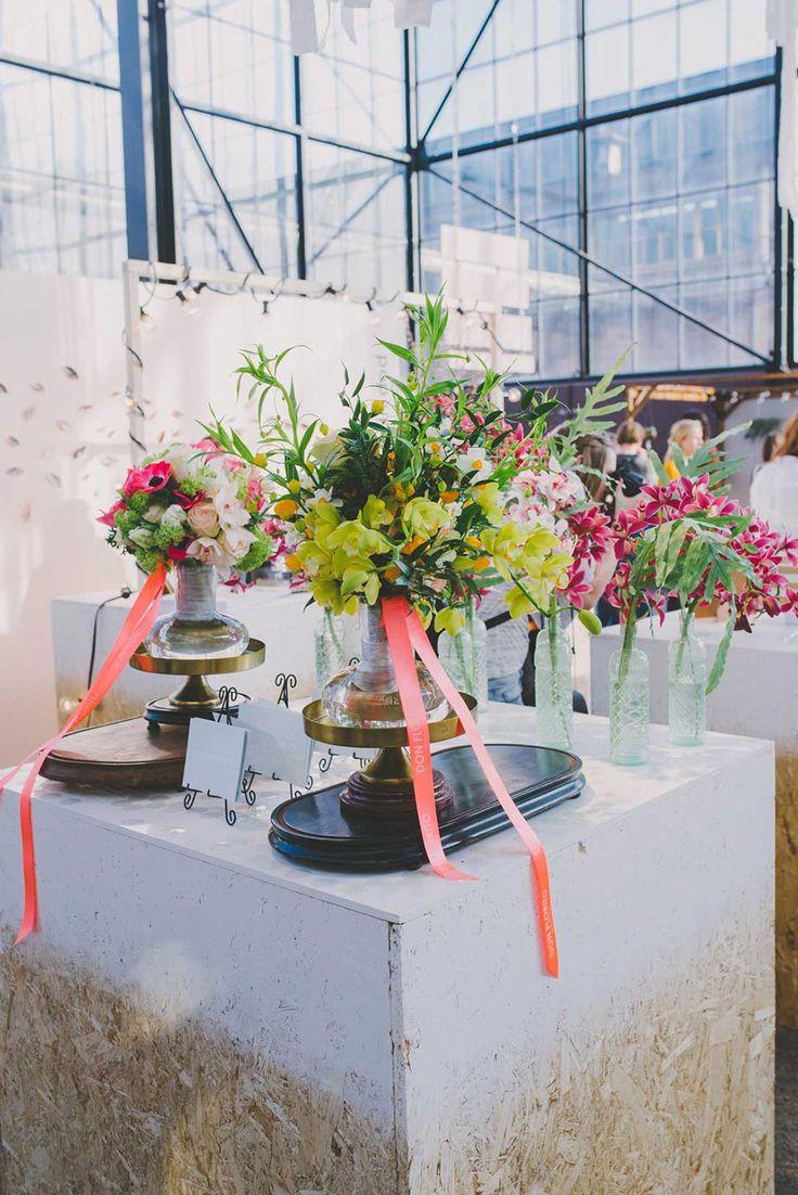 kleurrijke bloemen van Don Florito! //Foto: Anouk Fotografeert.