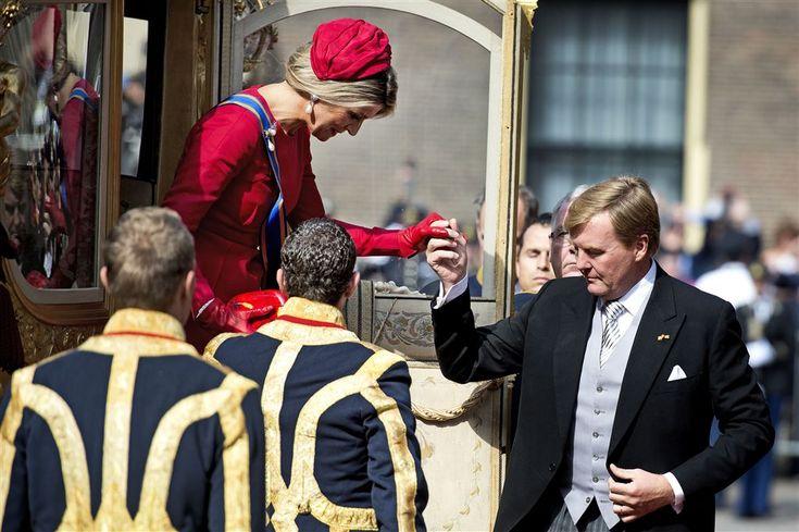 Koning weer op weg naar Noordeinde - Vorsten