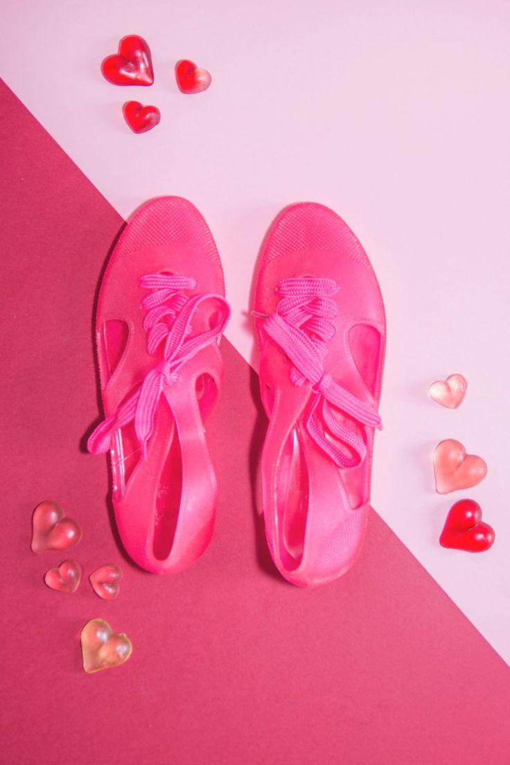 F-troupe Bathin Shoes Jelly Pink fot. Oliwa Cabaj