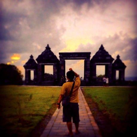 Menjelang Sunset @CandiBoko Yogyakarta