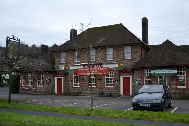 The Mile Oak Inn in Mile Oak Road, Portslade - my local when I lived in Mile Oak (1979-1985)