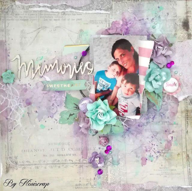 """Accent Scrapbooking: """" Memories"""" by Niniscrap"""