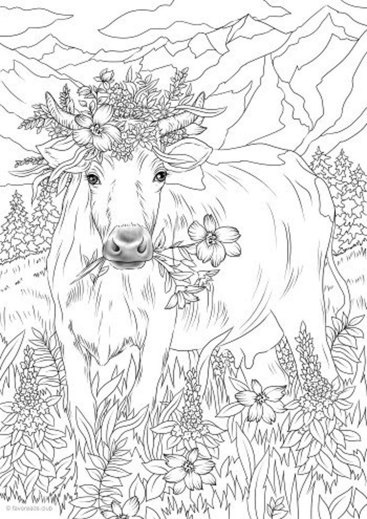 Pin On Animal Coloring Pages