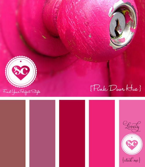 Farbpalette Wandfarbe Pink :  Pinterest  Wandfarbe Farbtöne, Hochzeit Farbpalette und Farbpalette