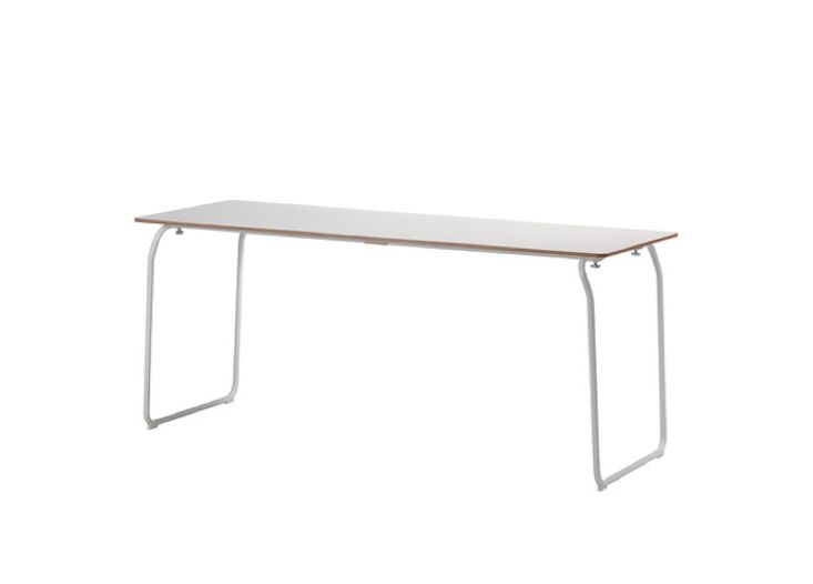 Table pliante inox jardin table jardin teck unique table - Ikea table inox ...