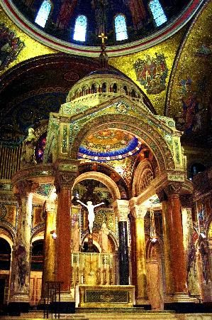 Cathedral Basillica   Reservations are required (call at least one day in advance) for the free daily guided tours