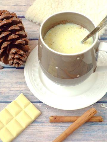 Una bebida perfecta para las sobremesas y meriendas de los días navideños. Una receta del blog DEA NADAR POR CASA.