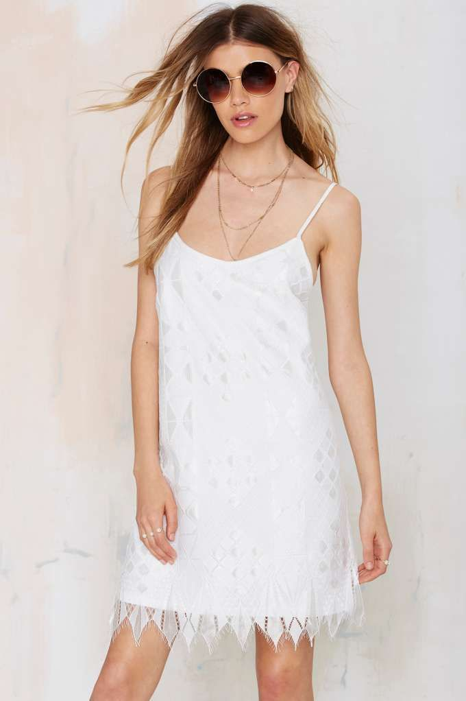 Alianne Lace Dress | Shop Clothes at Nasty Gal!