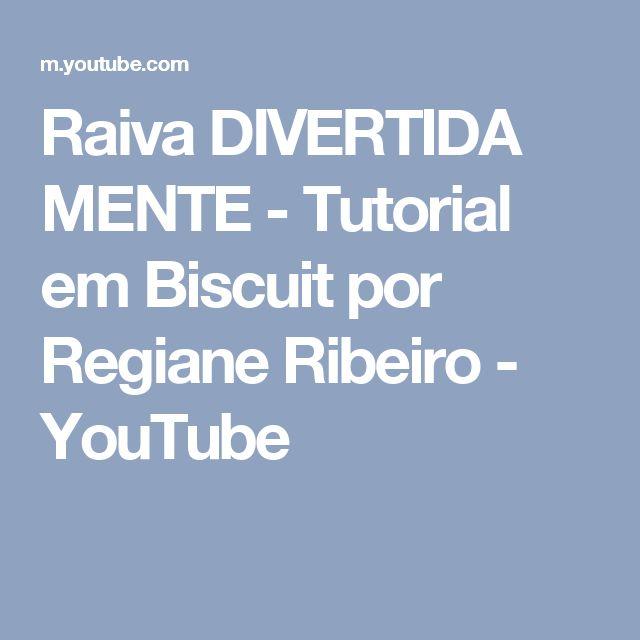 Raiva DIVERTIDA MENTE - Tutorial em Biscuit por Regiane Ribeiro - YouTube