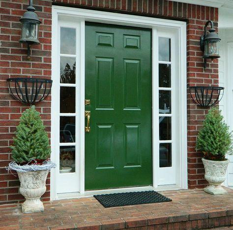 18 best front doors on red brick images on pinterest for Idea accredited door dealer