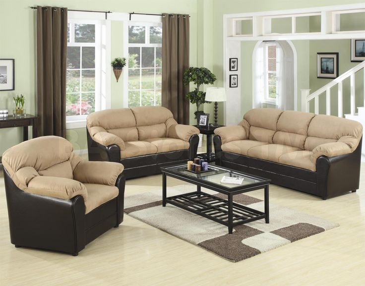 Nice Furniture,Captivating Cheap Living Room Sectionals With Cream Padded Seat  On Black Leather Sofa Frame Part 27