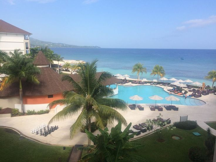 The view from a room at Secrets Wild Orchid in Montego Bay, Jamaica! Add it to your vacation bucket list. :)  Life & Lattes | Travels | Newlyweds | Summer Weather