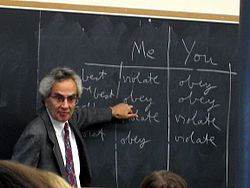 "Thomas Nagel-- (1937) is an American philosopher, currently University Professor of Philosophy and Law Emeritus at New York University in the NYU Department of Philosophy, where he has taught since 1980. His main areas of philosophical interest are philosophy of mind, political philosophy and ethics. Nagel is well known for his critique of reductionist accounts of the mind, particularly in his essay ""What Is it Like to Be a Bat?"" (1974), and for his contributions to"