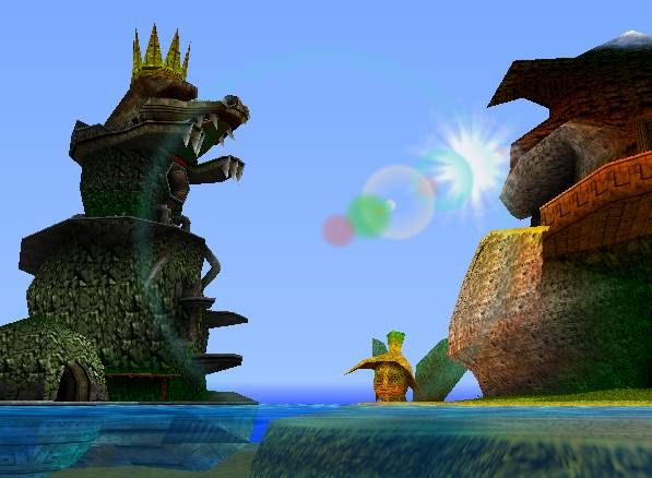 Donkey Kong 64, I used to travel to the fairy just because ALL the time.