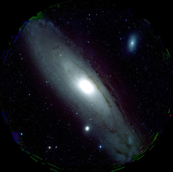 This new portrait of the Andromeda Galaxy, or M31, was taken with the Subaru Telescope's new high-resolution imaging camera, the Hyper-Suprime Cam (HSC).