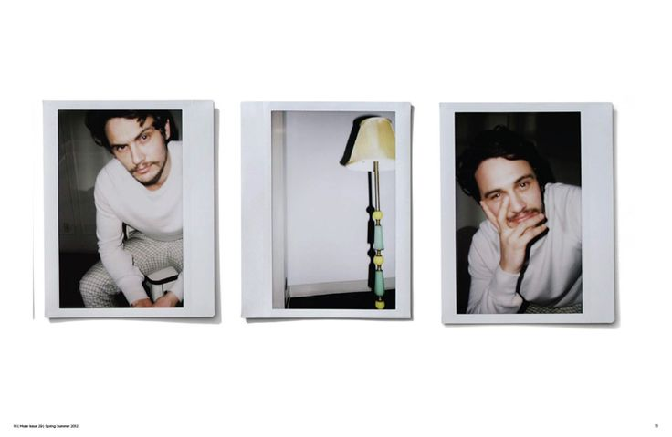 James Franco by Mona Kuhn for Mister Muse