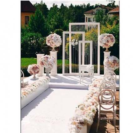 34 + Ideen Garten Hochzeit Gang Dekor Empfänge   – GLASS GARDEN.