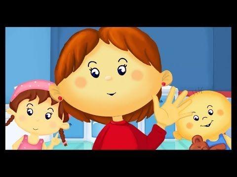 Comptine pour enfants : Je me lave les mains - YouTube