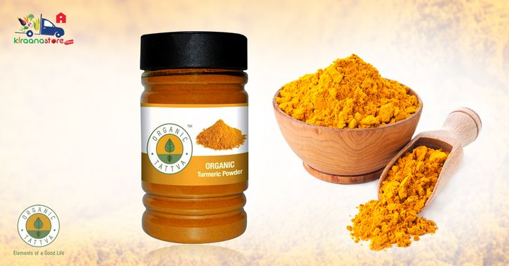 #Shop Online for #Organic #Turmeric #Powder 100GM @ Rs.45 on Kiraanastore. Get Fast Home Delivery!! Call - 0120-4509840.