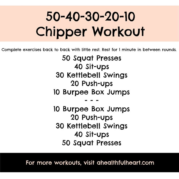 20 Minute Double Kettlebell Workout: 50-40-30-20-10 Chipper Workout