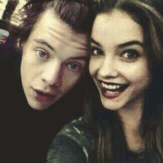 Barbara Palvin and Harry Styles