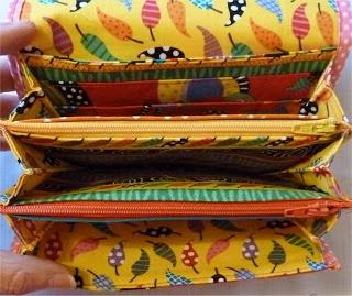 SEWCHRISTINE: New Project - Multi Compartments Wallet Purse