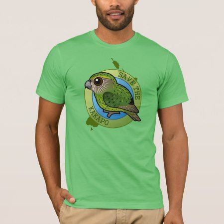 Save the Kakapo T-Shirt - tap to personalize and get yours