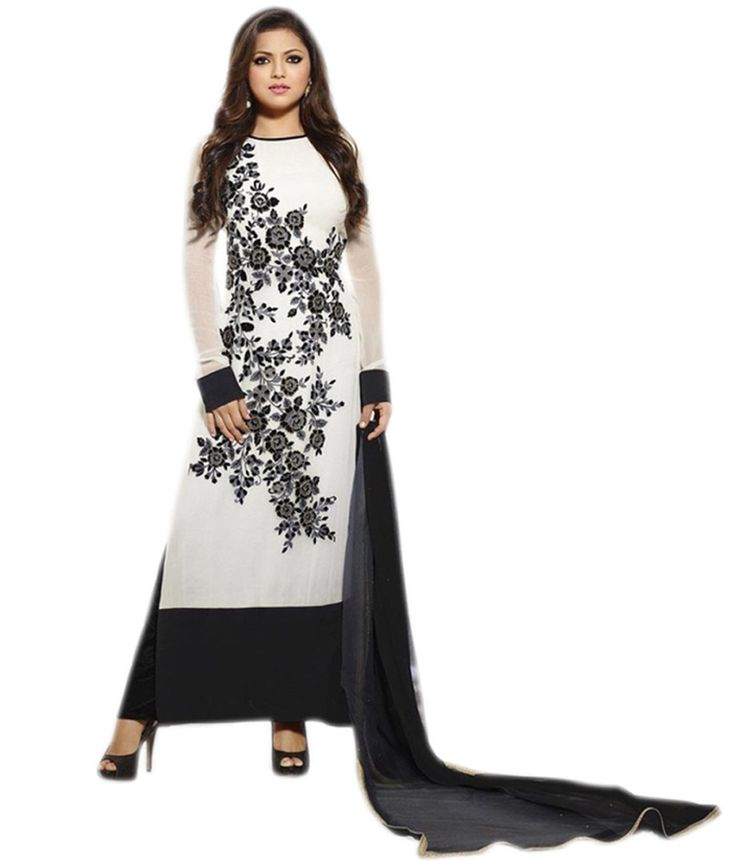 Shop Smile Womens Georgette Salwar Suit Dress Material by Ustaad Sales online. Largest collection of Latest Salwar Suits online. ✻ 100% Genuine Products ✻ Easy Returns ✻ Timely Delivery
