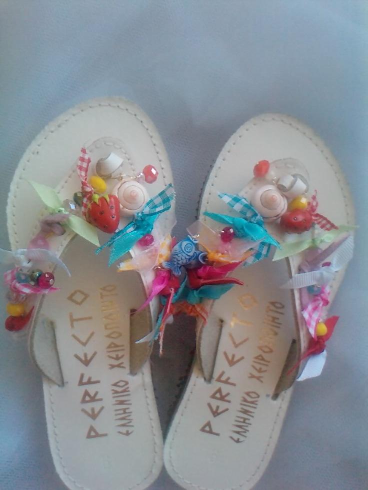 handmade sandals by elena!