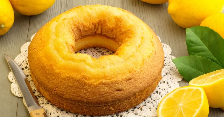 This delicious, fragrant lemon yoghurt cake is so simple to make, and with no butter, it's a little healthier than your average dessert.