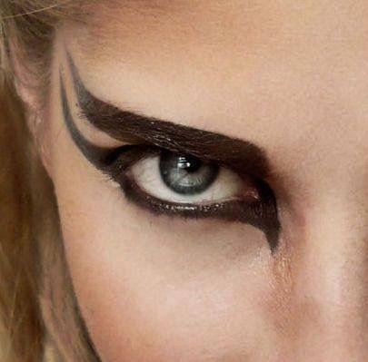 Maquillaje guerrera
