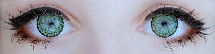 Korean Big Eye Circle Lenses: Korean Skin Care & Makeup - More in www.uniqso.com: circle lenses for light eyes