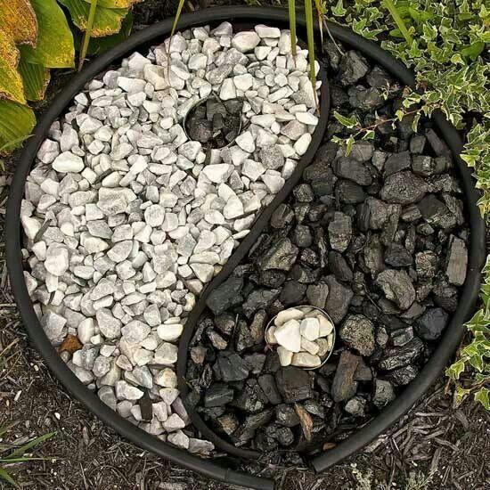 11 besten yin yang garden design bilder auf pinterest gartenideen h hle und japan garten. Black Bedroom Furniture Sets. Home Design Ideas