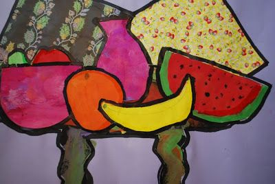 PAINTED PAPER: Picasso's Still Life