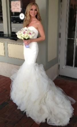 Awesome Vera Wang Lillian Size Used Wedding Dresses Wedding dress Weddings and Wedding
