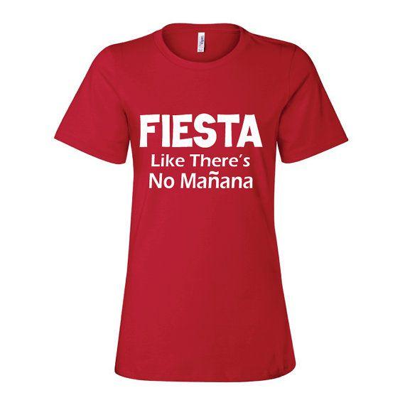 Fiesta Men's or Women's Cinco De Mayo Party TShirt by MadJoApparel, $18.00