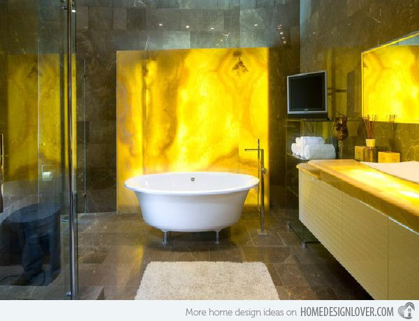 91 best Yellow Bathrooms images on Pinterest | Bathroom, Yellow ...