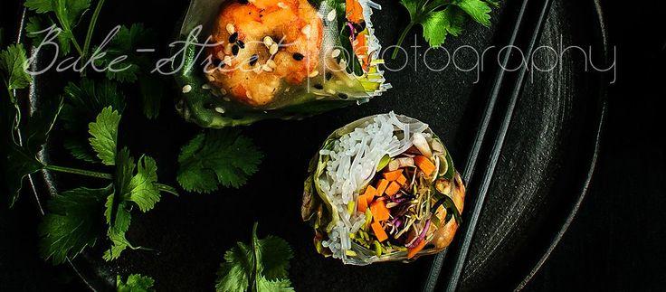 Rollos Vietnamitas con papel de arroz - Bake-Street.com