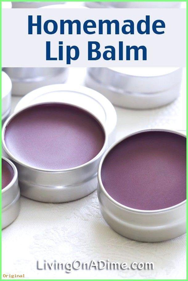 50+ Hautpflege – Selbst gemachtes Lippenbalsam-Rezept – selbst gemachte Weihnach…